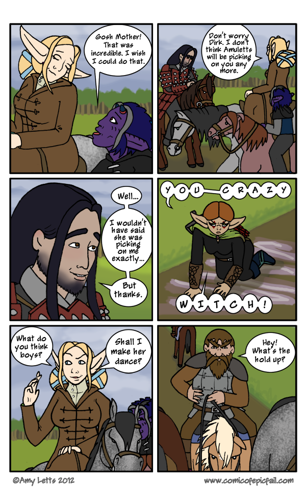 Pg 68: Crazy Witch