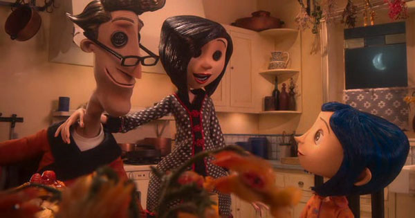 Coraline could live in a perfect world if she'd just let her Other Mother sew buttons in her eyes