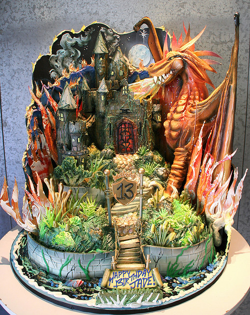 Dungeons & Dragons Birthday Cake