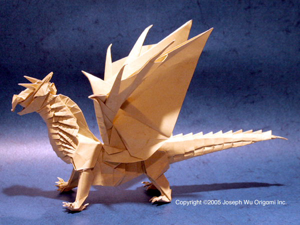 Dragon Folding Origami Instructions