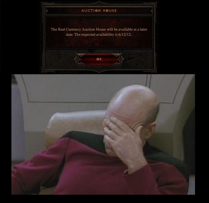Diablo 3 Facepalm
